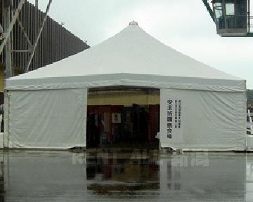10m×10mテント