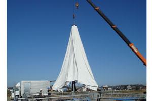 10mテント設置イメージ