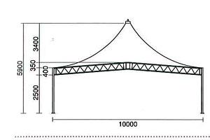 10mテントサイズ詳細