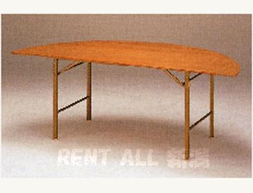 Φ1800 半丸ベニヤテーブル